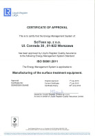 ISO 50001:2011 - Certificate of Approval