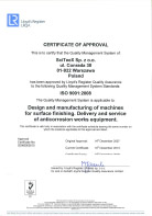 ISO 14001:2015 - Certificate of Approval