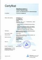 ISO 3834-2 Weryfikacja wytwórców i zakładu spawalniczego